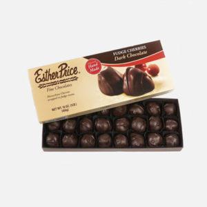 Dark Chocolate Fudge Cherries Tilt 16 Oz