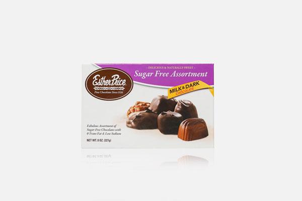 Esther Price sugar free assorted chocolates