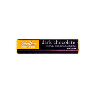 Esther Price dark chocolate bar