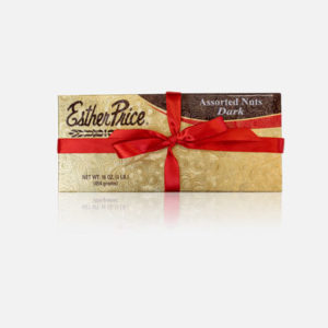 Esther Price Dark Chocolate covered assorted nuts