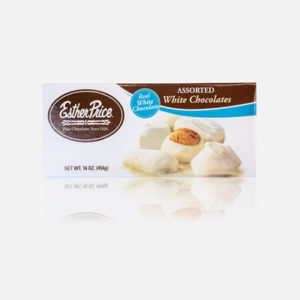 Esther Price white assorted chocolates